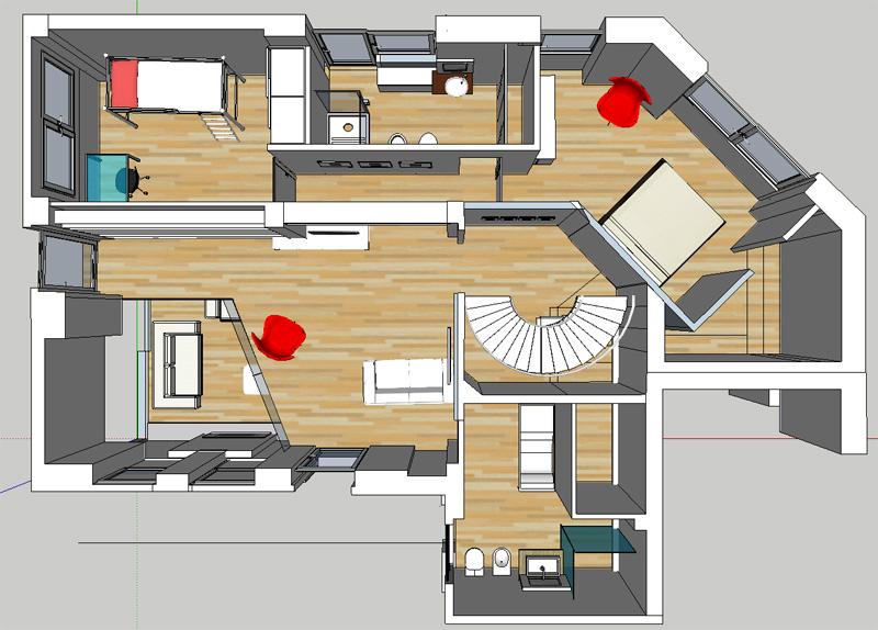 Camere da letto casa nuova nuova pag 4 mammeonline - Disposizione stanze casa ...