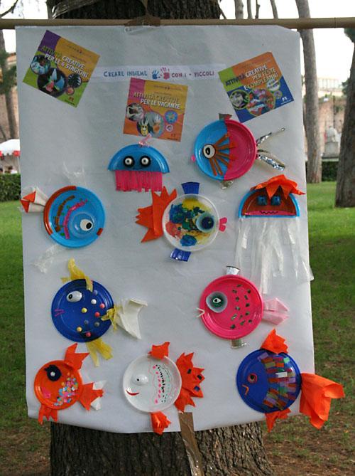 Creare insieme con i piccoli maggio 2010 for Creare pesci