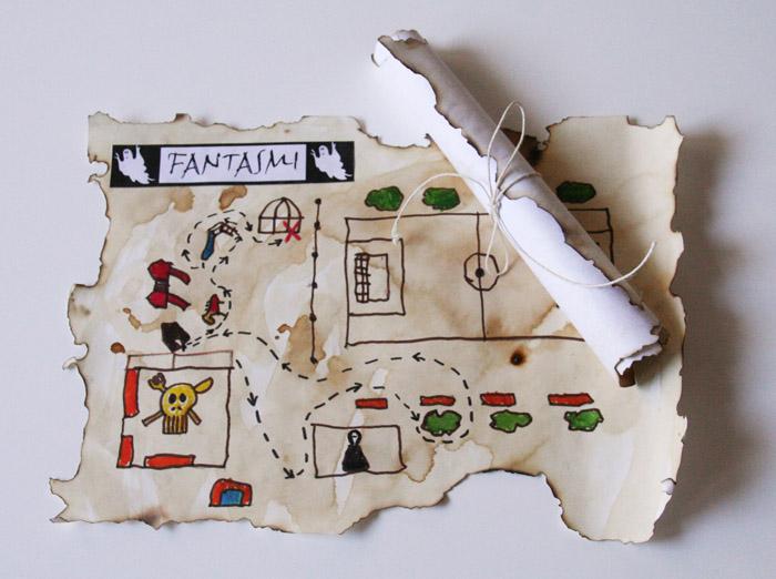 Alcuni giochi erano indovinelli, altri oggetti da trovare e portare ...